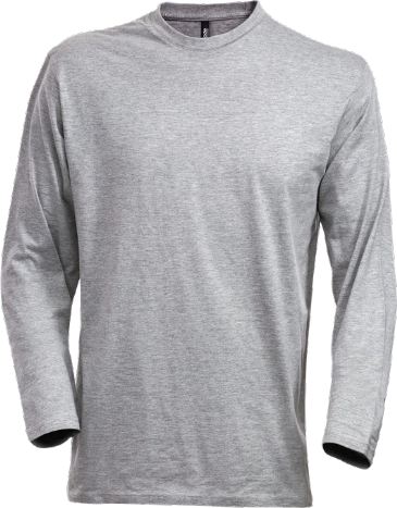 Fristads Acode Long Sleeve Core T-Shirt 1914 HSJ (Grey Melange)